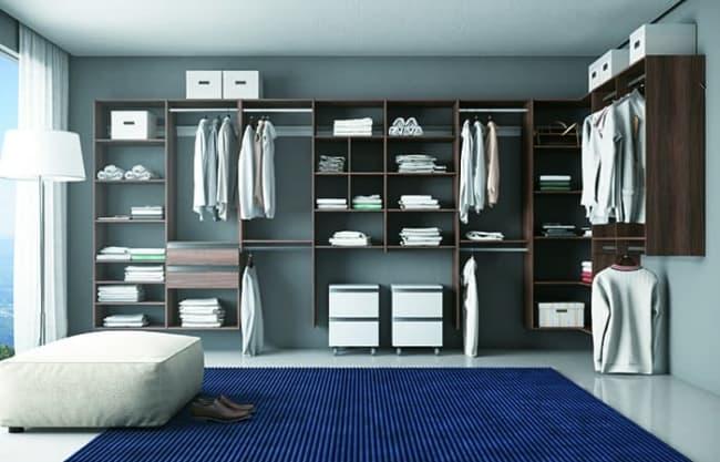 closet modulado em MDF