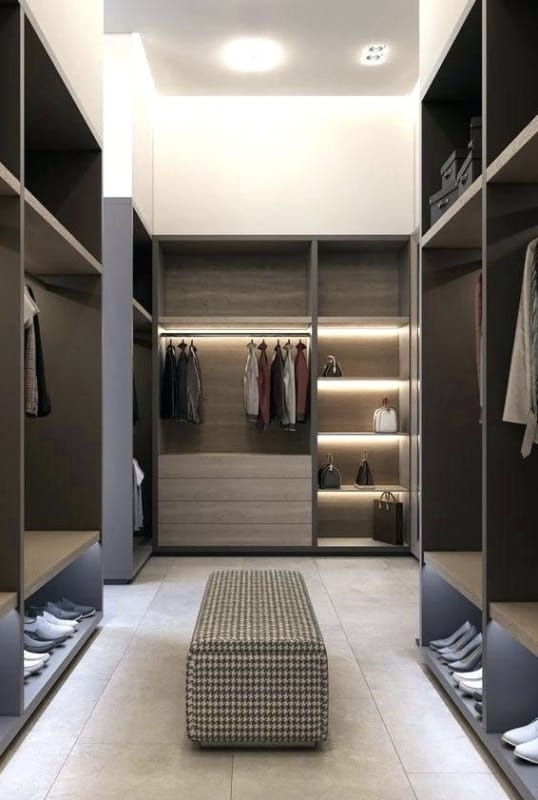closet modulado para o casal