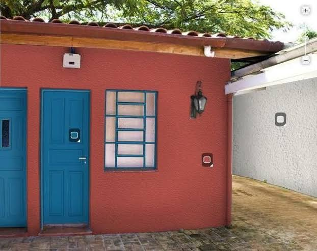 cor terracota na fachada