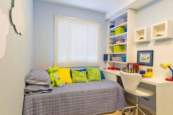 decoração de quarto infantil planejado pequeno