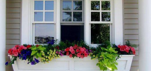 floreira de janela