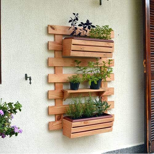 floreira de parede grande