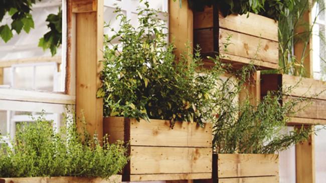 floreiras rústicas de parede