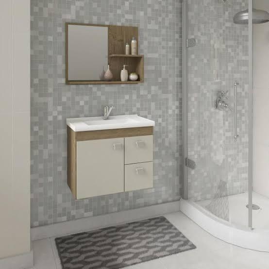 gabinete para banheiro com espelho ideias