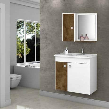 gabinete para banheiro com pia