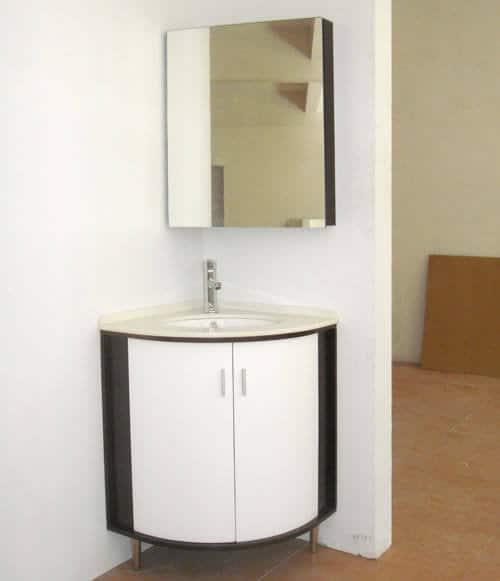 gabinete para banheiro de canto
