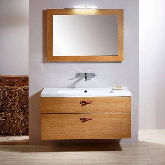 gabinete para banheiro de madeira decorado
