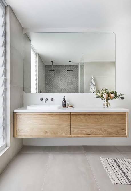 gabinete para banheiro moderno grande