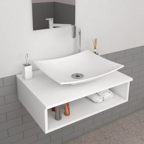 gabinete para banheiro pequeno e simples
