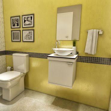 gabinete para banheiro pequeno