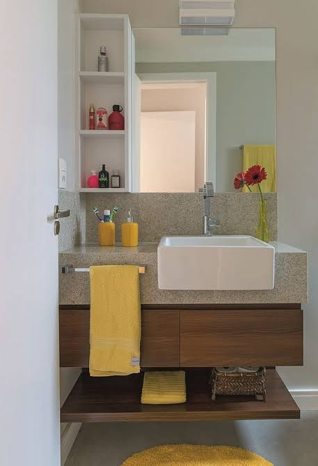 gabinete para banheiro planejado bonito