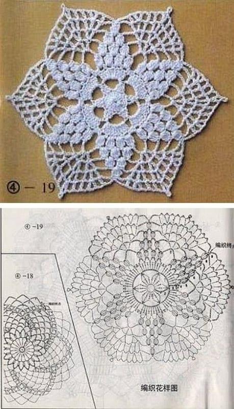 guardanapo em forma de flor