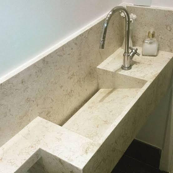 ideia de Pia de granito para banheiro