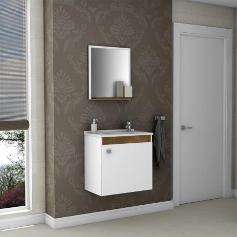 ideia de gabinete para banheiro com pia