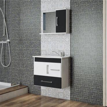 ideia de gabinete para banheiro pequeno
