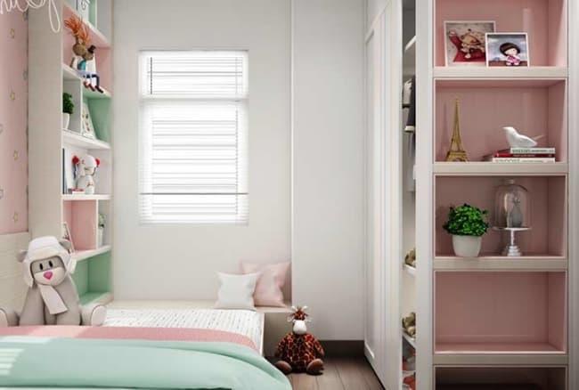 ideia de quarto infantil planejado pequeno