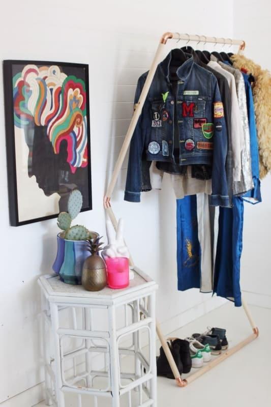 ideias de Closet pequeno