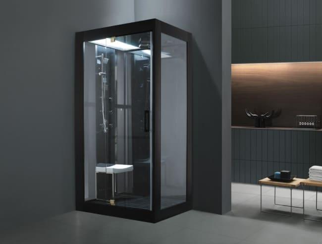 ideias de cabine de banho compacta