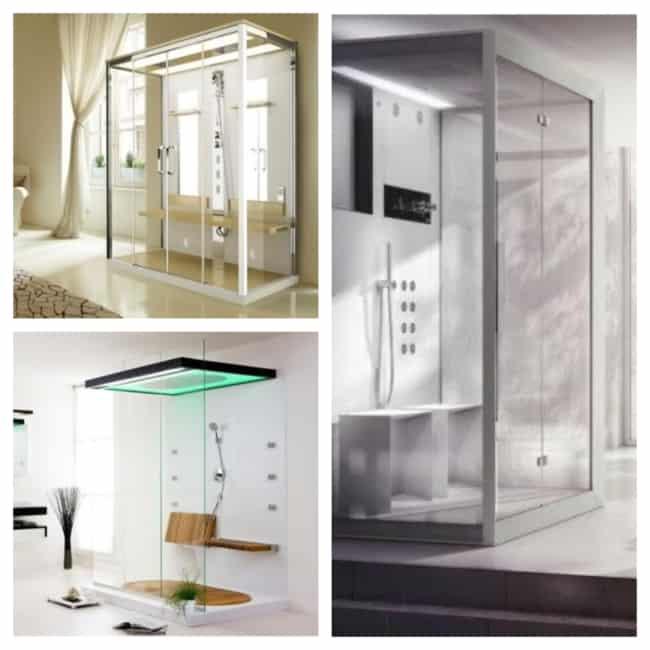 ideias de cabine de banho
