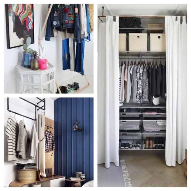 ideias de closet barato