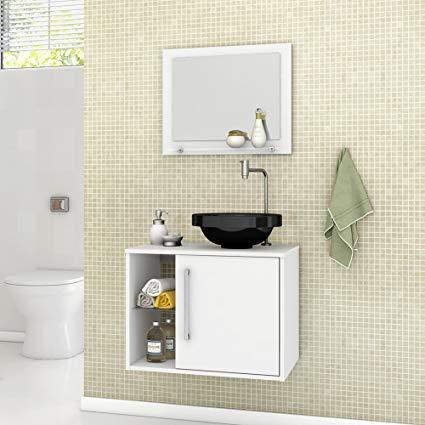 ideias de gabinete para banheiro pequeno