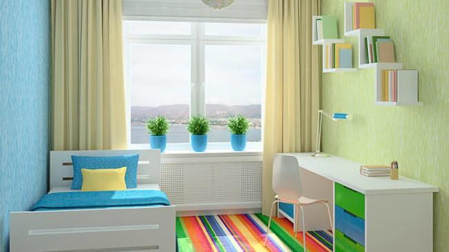 ideias de quarto infantil planejado pequeno