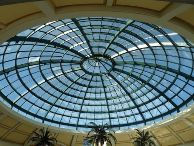 iluminação com cúpula