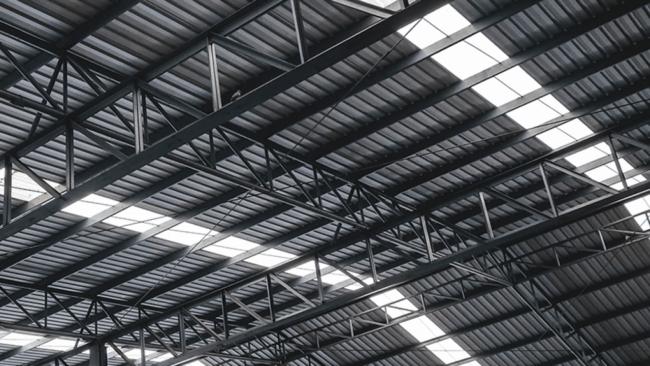 iluminação com telha translucida
