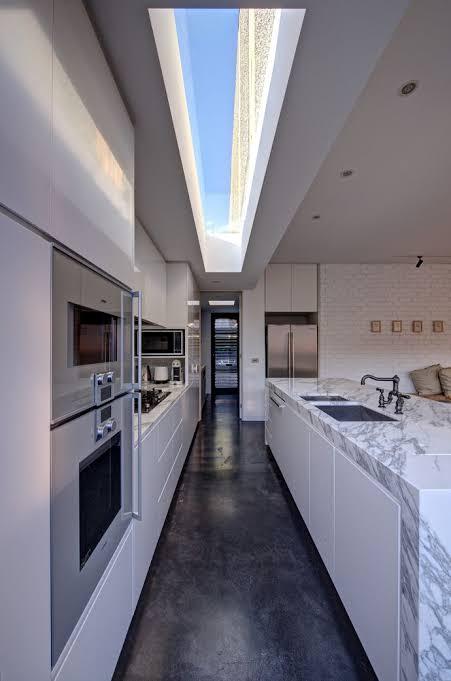 iluminação zenital em cozinha