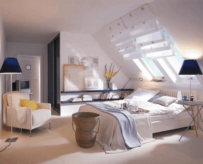 iluminação zenital em quartos