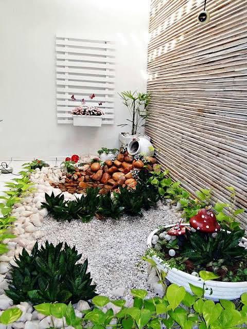 lindo mini jardim de inverno