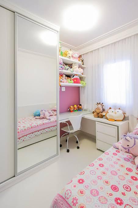 lindo quarto infantil planejado feminino