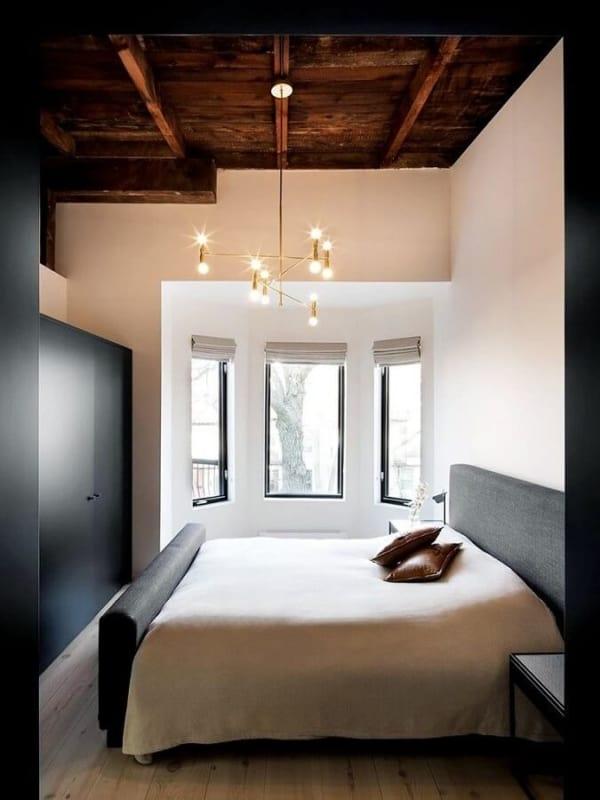 luminária de teto em quartos