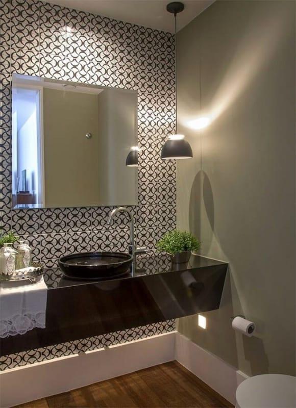 luminária de teto para banheiro