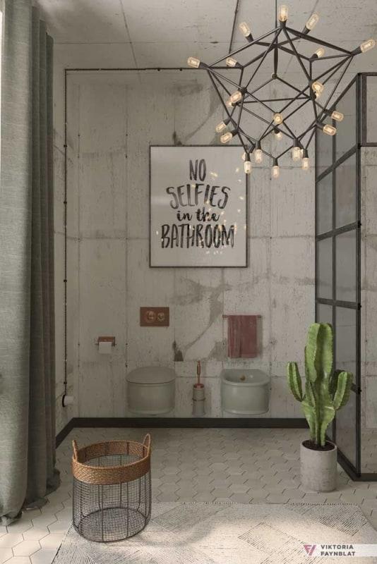 luminária de teto para banheiros