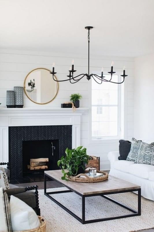 luminária de teto para sala de estar