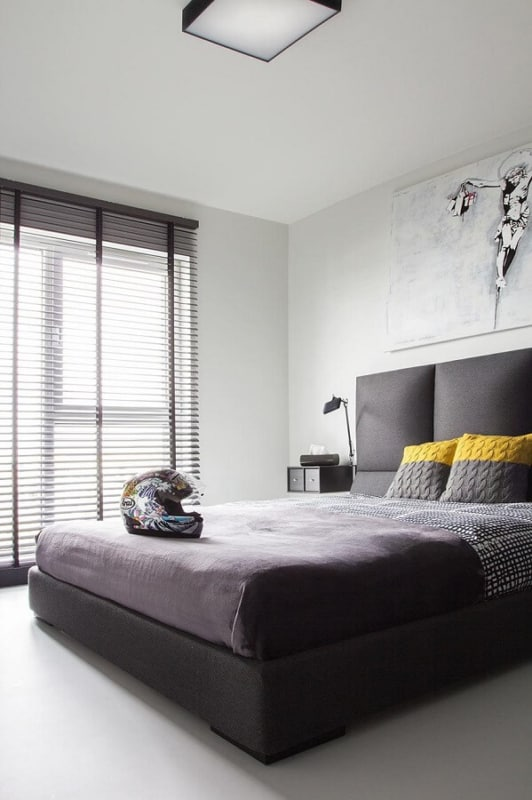 luminária de teto simples para quarto