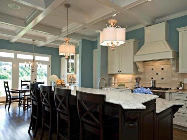luminária de teto vintage para cozinha