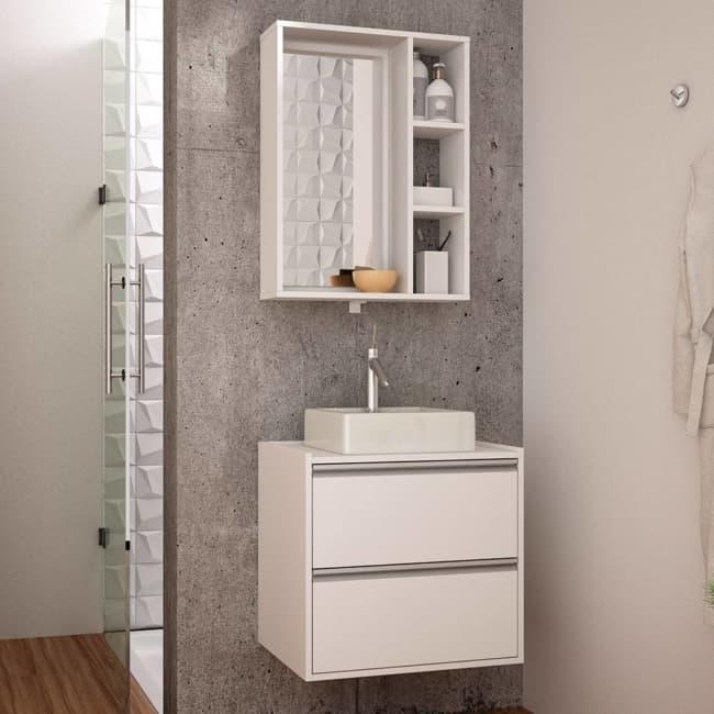 modelo de gabinete para banheiro pequeno
