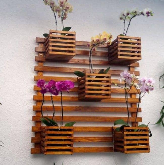 modelos de Floreira de madeira