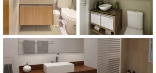 modelos de pia de banheiro