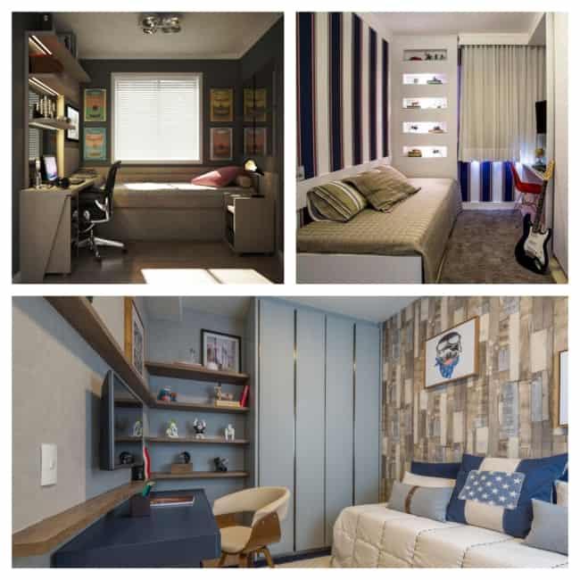 quarto de solteiro planejado moderno 1