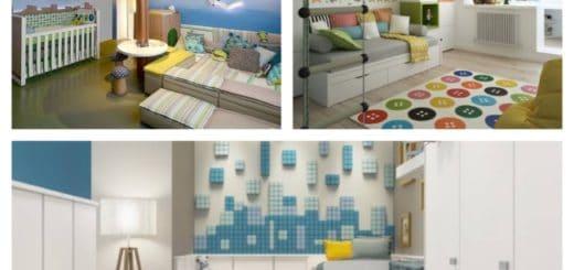 quarto infantil planejado decorado