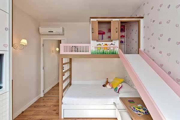 quarto infantil planejado feminino