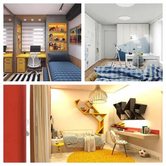quarto infantil planejado masculino decorado 1