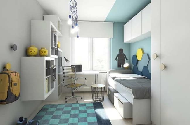 quarto infantil planejado masculino decorado