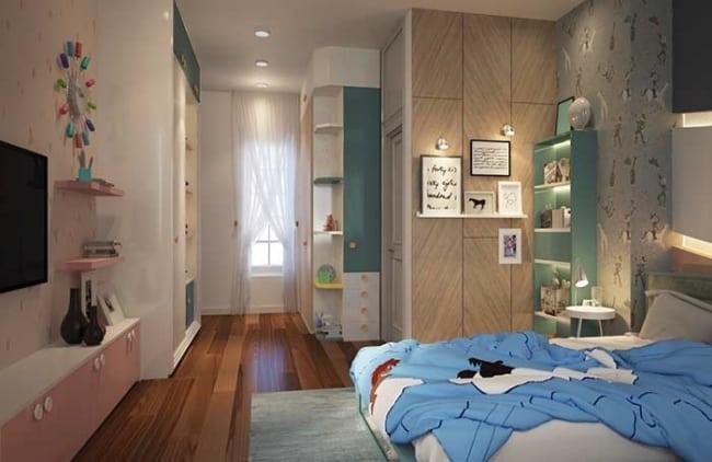 quarto infantil planejado masculino projetado