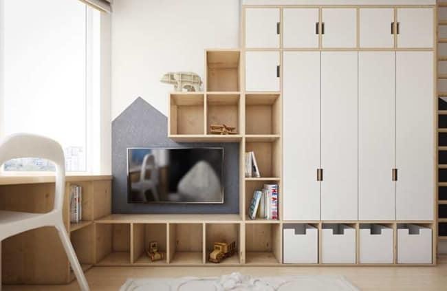 quarto infantil planejado masculino simples