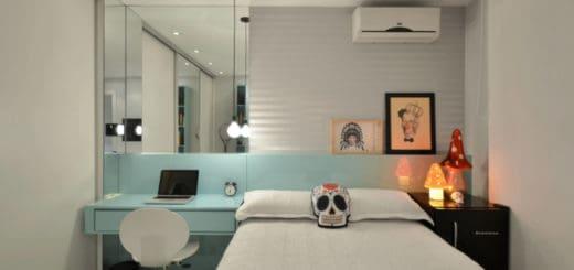 quarto pequeno de solteiro planejado