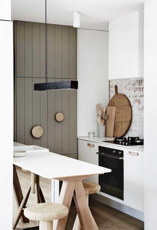 verde musgo cozinha